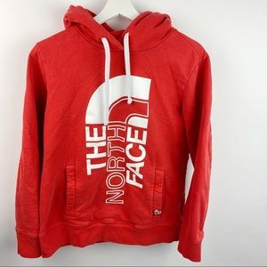 The North Face Red pullover Hoodie